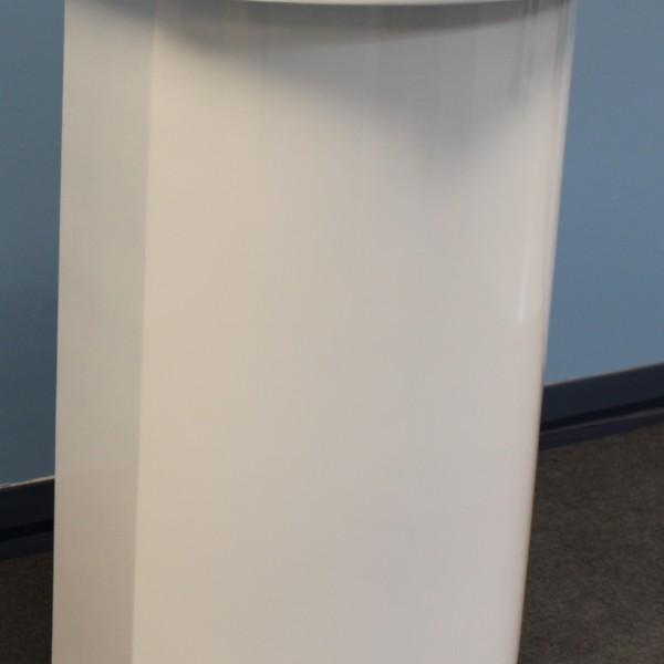 White Pedestal Kiosk
